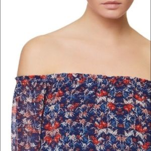 • sanctuary by anthropologie floral print top •